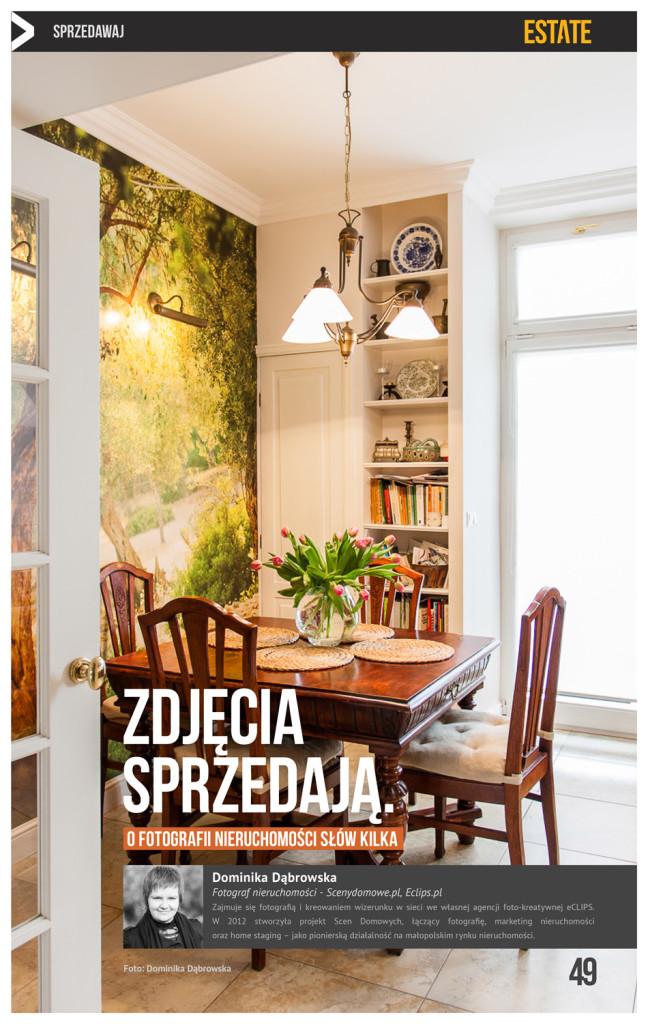 Sceny Domowe o fotografii nieruchomości