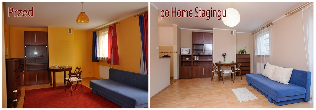 Home Staging w kawalerce