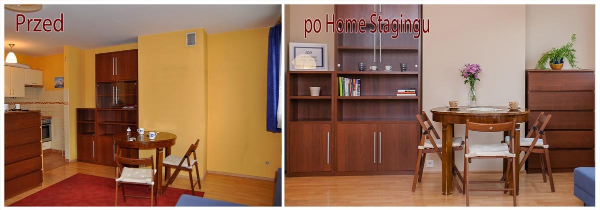 Home Staging w kawalerce