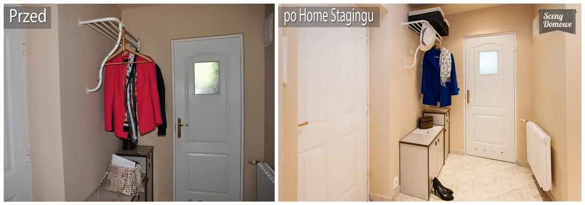 home staging w korytarzu