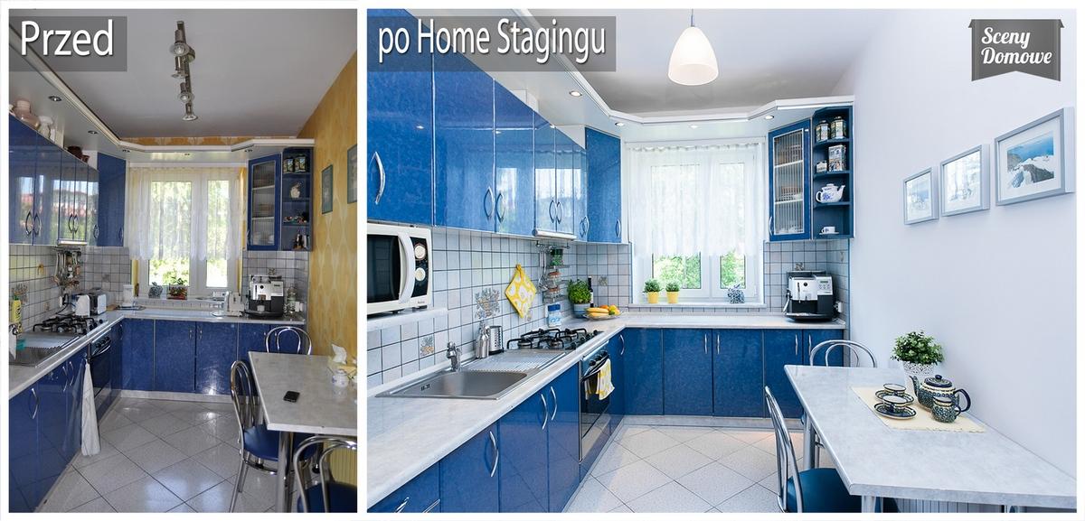 Radomska home staging w kuchni