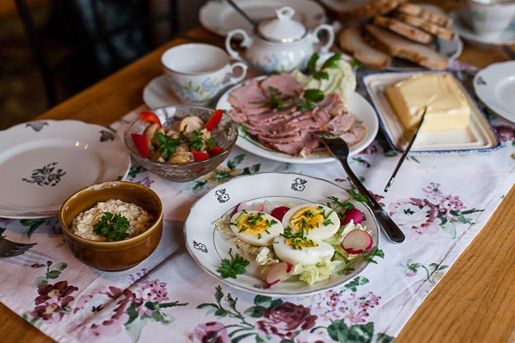 Śniadanie w Chacie Szewca
