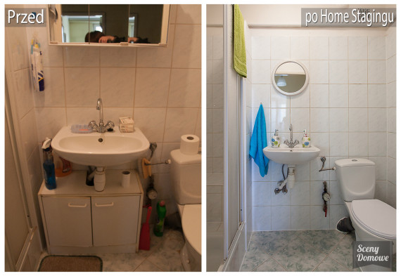 home staging łazienki