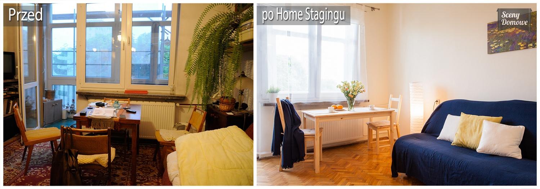 home staging mieszkanie na wynajem