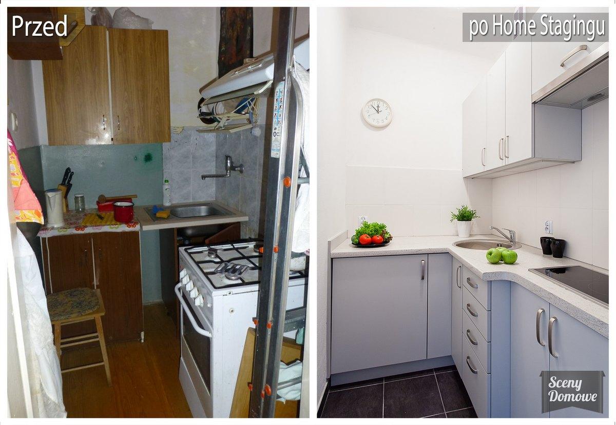 Kuchnia Ul Szafera Sceny Domowe Home Staging Kraków