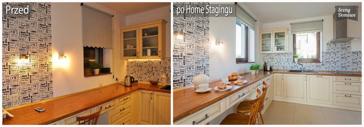 Kuchnia home staging