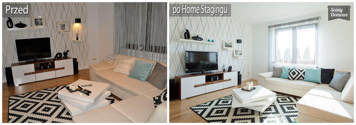 home staging w domu w g bokiej sceny domowe home staging krak w. Black Bedroom Furniture Sets. Home Design Ideas
