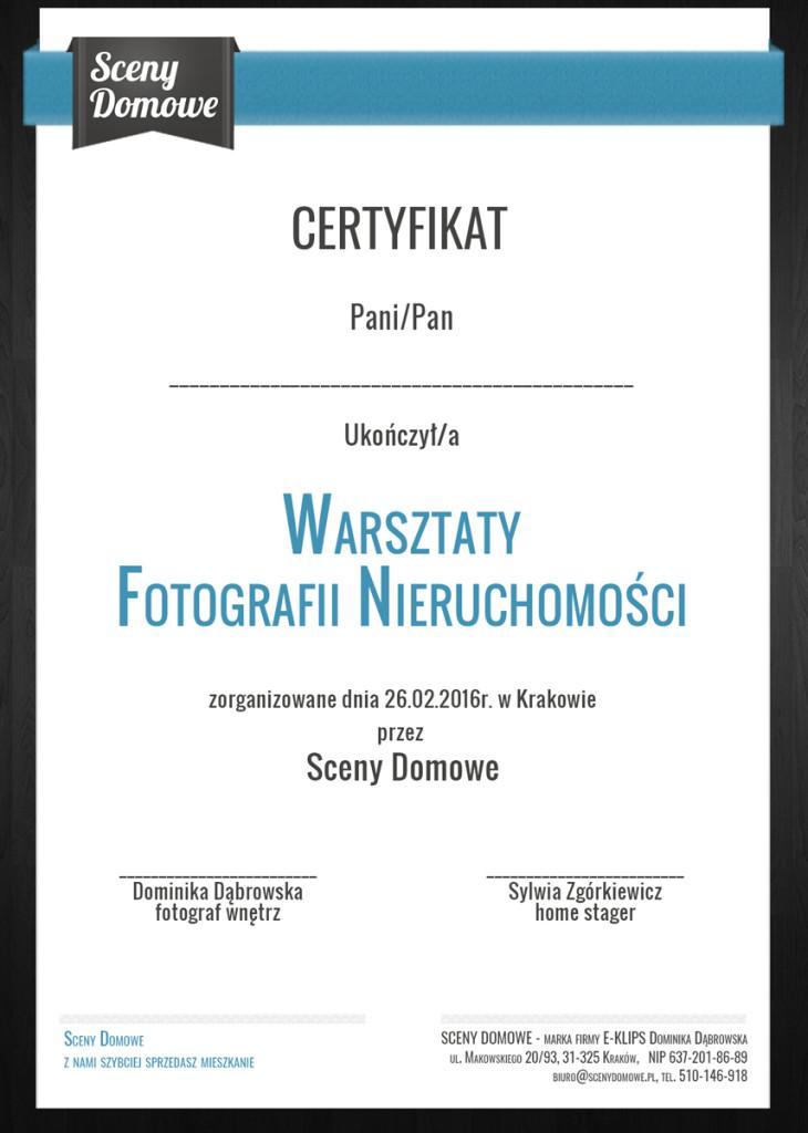 Warsztaty Fotografii Nieruchomości