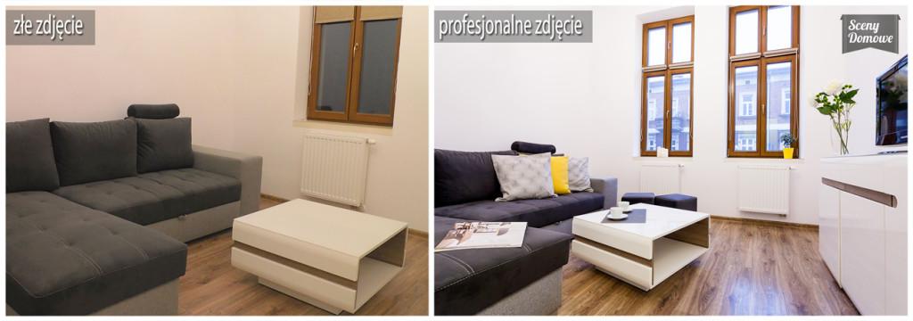 Home Staging Apartament Brzozowa Kraków Warsztaty Fotografii Nieruchomości